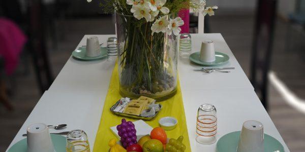 table petit déjeunerreduite